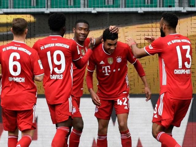 3:2-Sieg in Wolfsburg: Bayern steuert auf den nächsten Titel zu