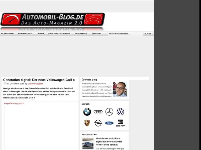 Generation digital: Der neue Volkswagen Golf 8