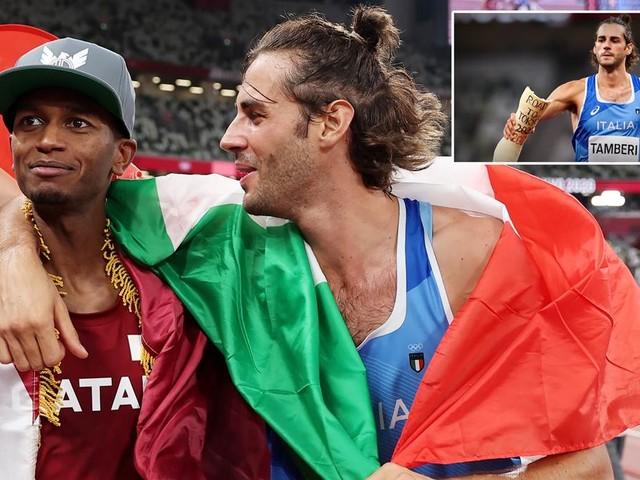 Zwei Olympiasieger im Hochsprung: Tamberi und Barshim teilen sich Gold in Tokio