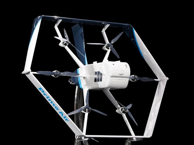 Antrag bei US-Behörde: Amazon will mit Drohnenlieferungen loslegen
