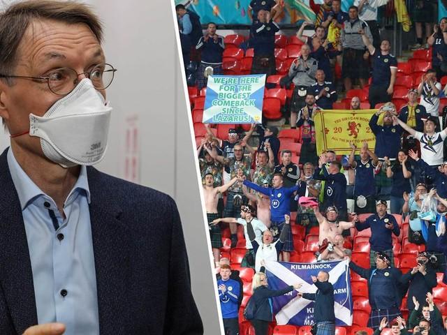 Steigende Corona-Infektionszahlen: Lauterbach kritisiert EM-Spiele in London