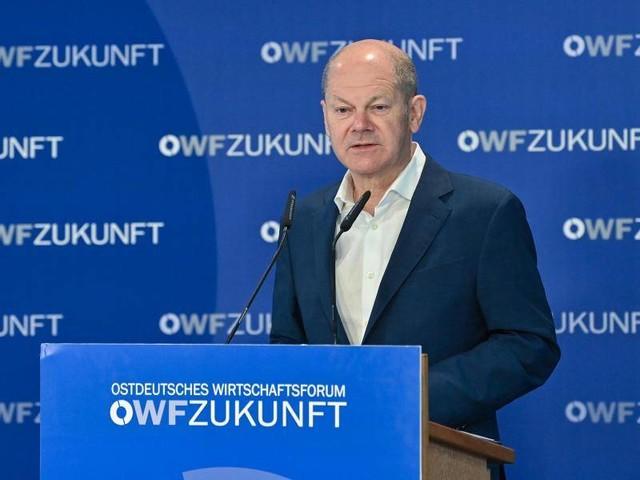 Ostdeutsches Wirtschaftsforum: Scholz: Aufbruch Ost statt Nachbau West