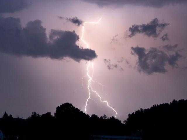 DWD warnt vor starken Gewittern in Sachsen
