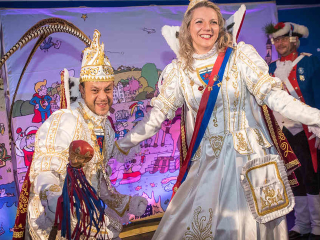 Haus des Karnevals: So schön war der Tollitäten-Empfang des GA