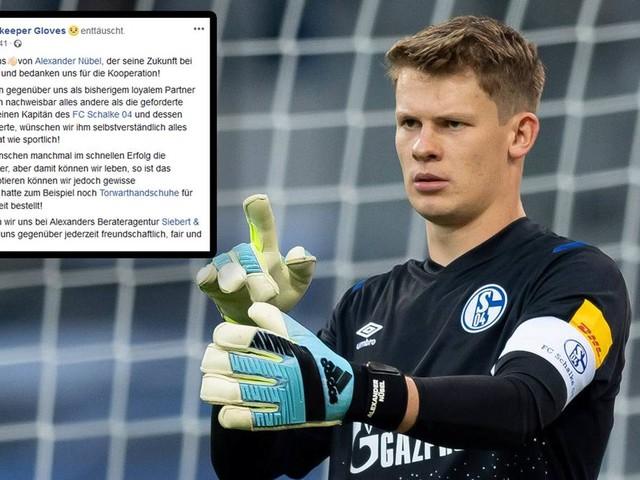Ex-Ausrüster schießt gegen Nübel - Berater von Schalke-Torwart reagiert