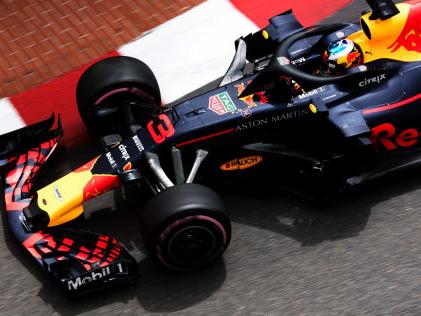 Formel 1: Qualifying in Monaco Red Bull verleiht Flügel