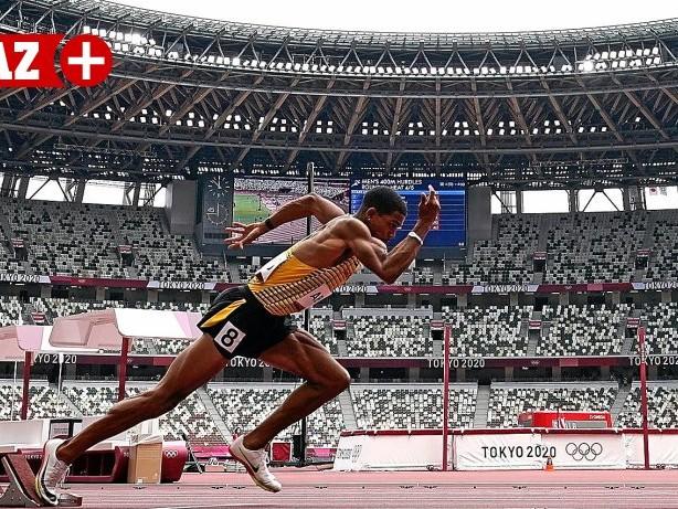 Olympische Spiele: Oberhausener Joshua Abuaku sprintet in Tokio ins Halbfinale