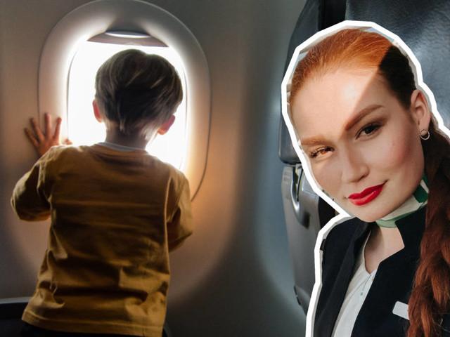 Weniger Stress: Diese Tipps gibt eine Flugbegleiterin für Fliegen mit Kindern