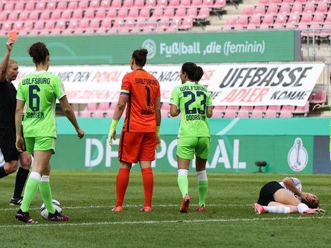 Finale in Köln: VfL Wolfsburg zum achten Mal DFB-Pokalsieger der Frauen