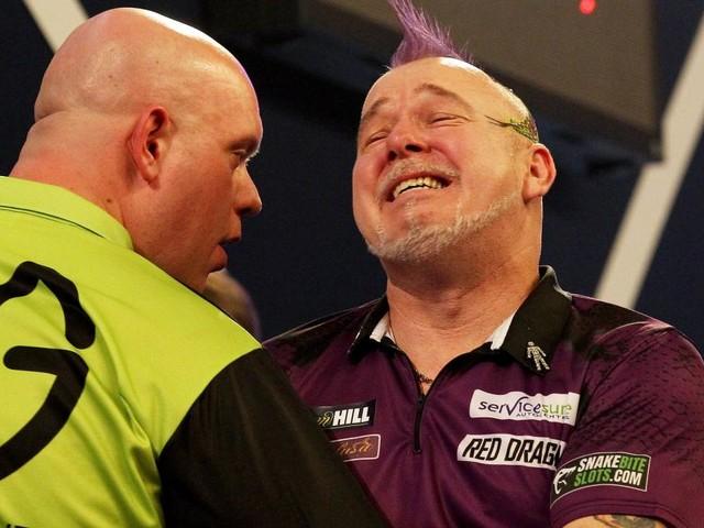 """Vom """"Clown"""" zum Darts-Weltmeister: Wrights emotionale Krönung"""