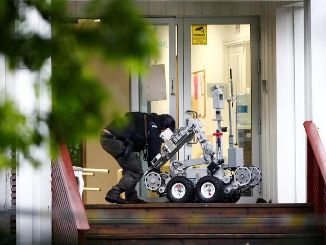 """Angriff auf Moschee bei Oslo: """"Versuchter Terroranschlag"""""""