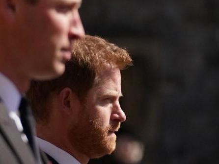 London: Prinzen treffen an Dianas 60. aufeinander