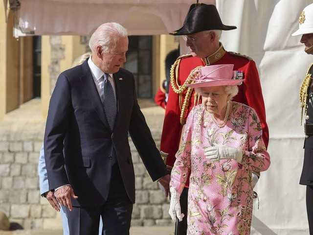 Joe Biden beeindruckt: Queen Elizabeth II. erinnert mich an meine Mutter