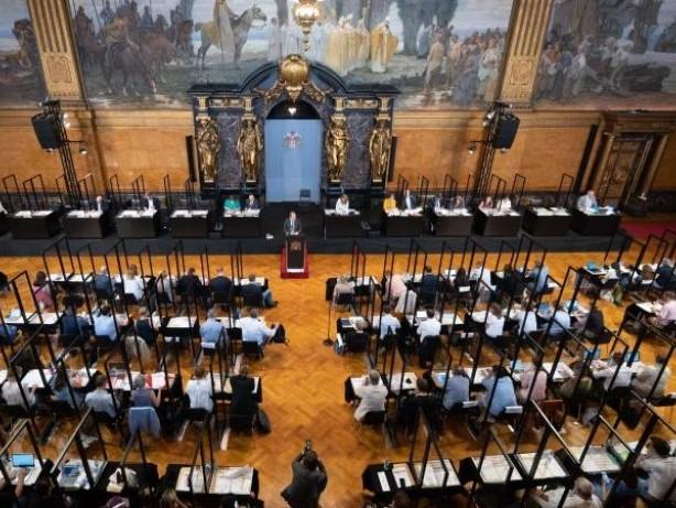 Bürgerschaft: Bürgerschaft debattiert über Bundestagswahl