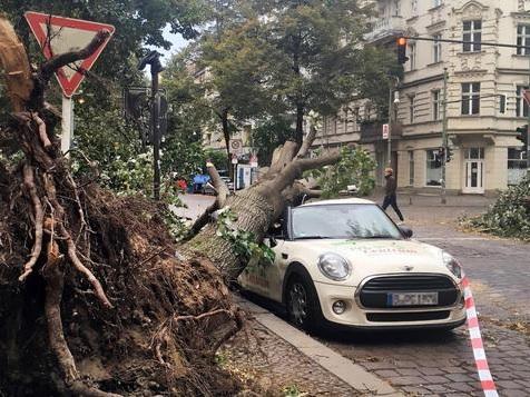 Sieben Tote und schwere Verwüstungen durch Sturm