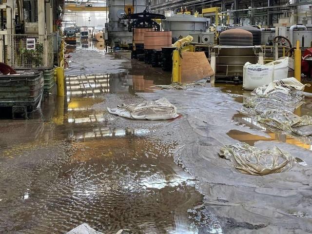 Nach Hochwasser: Aurubis nimmt Produktion in Stolberg wieder auf
