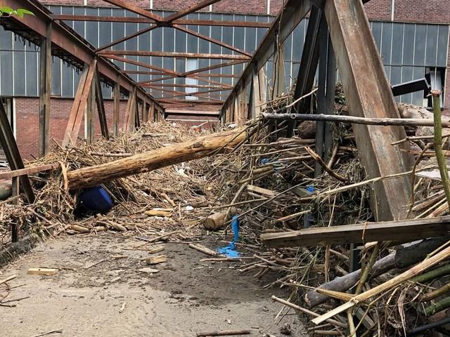 So erlebten die Mitarbeiter der GMH-Tochter in Hagen das Hochwasser