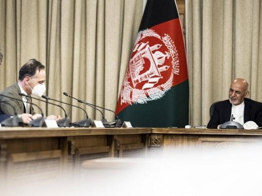 Afghanistan - Maas in Kabul eingetroffen - Hilfe zugesichert
