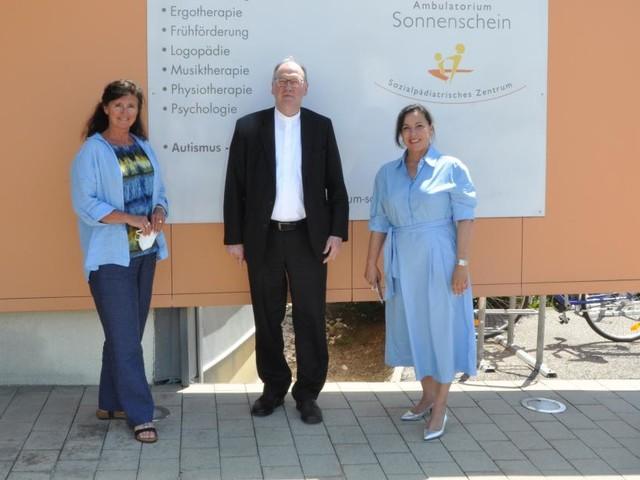 Bischof Alois Schwarz besuchte Autismuszentrum in St. Pölten