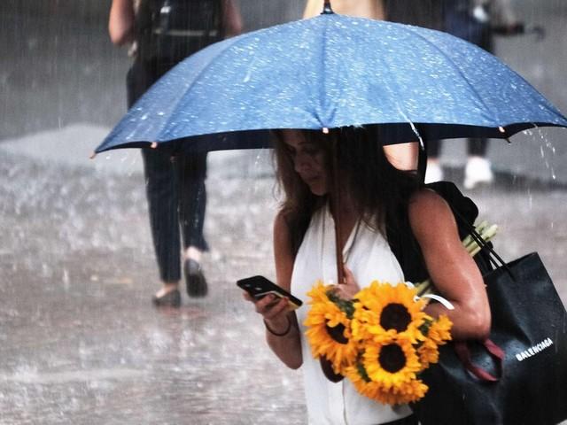 """Starkregen: U-Bahn-Stationen geflutet: Reste von """"Elsa"""" setzen New York unter Wasser"""