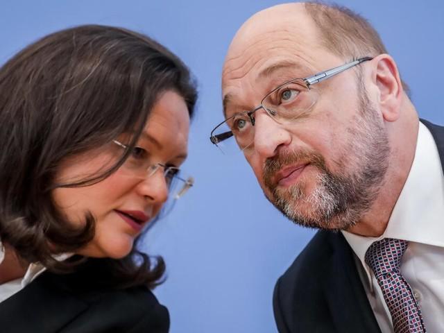 Bundestagswahl: Martin Schulz schlägt Andrea Nahles für Fraktionsvorsitz vor