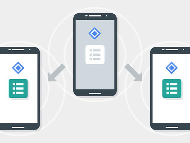 Android Apps können auch ohne Internet miteinander reden