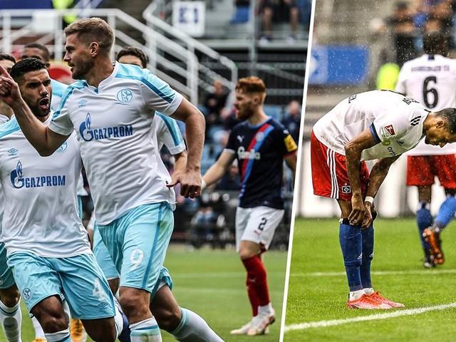 Kompakt: Terrode schießt Schalke zum Sieg - HSV patzt gegen Aufsteiger Dresden