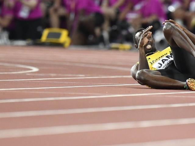 Leichtathletik-WM in London: Usain Bolt beendet Karriere mit Verletzung