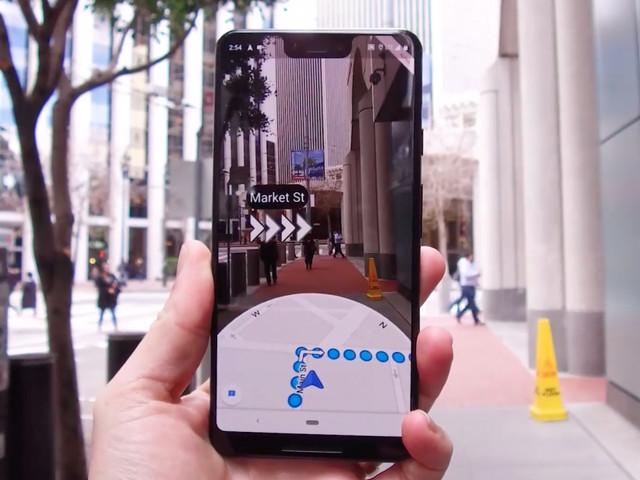 Navigieren mit der Kamera: Google Maps bekommt AR-Funktion