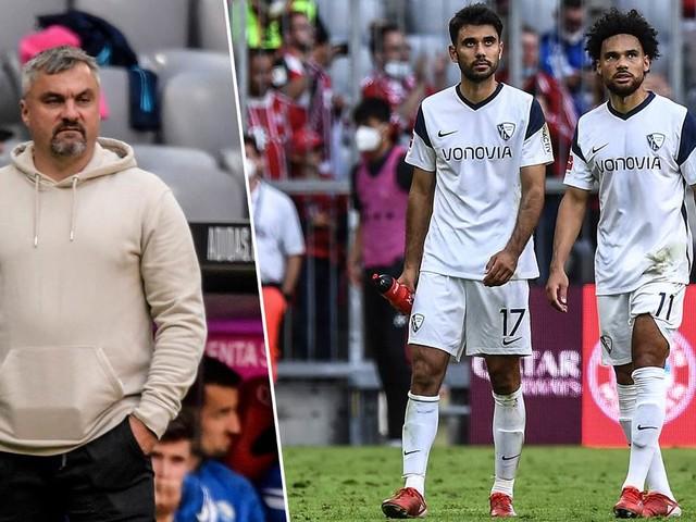 """Bochum-Trainer Reis nach Debakel beim FC Bayern: """"Ich schäme mich"""""""
