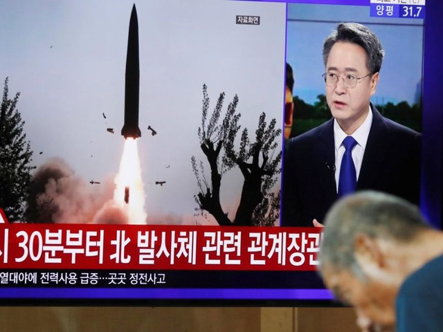Südkorea: Nordkorea feuert Geschosse ins Japanische Meer
