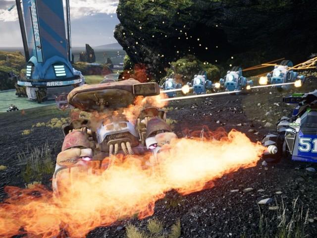 Switchblade: Startschuss für die Closed Beta der Fahrzeug-Action auf PS4 und PC