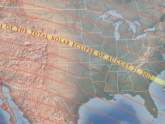Ist die Sonnenfinsternis über USA ein Zeichen?