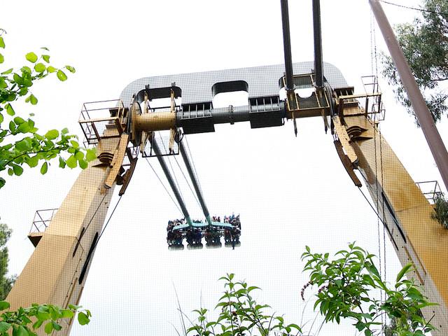"Riesen-Schaukel ""Rush"" im Thorpe Park bleibt bis Saisonende 2017 geschlossen"