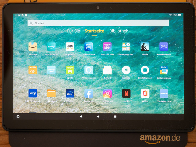 Amazon Fire HD 10 Plus: Amazons Top-Tablet im Test