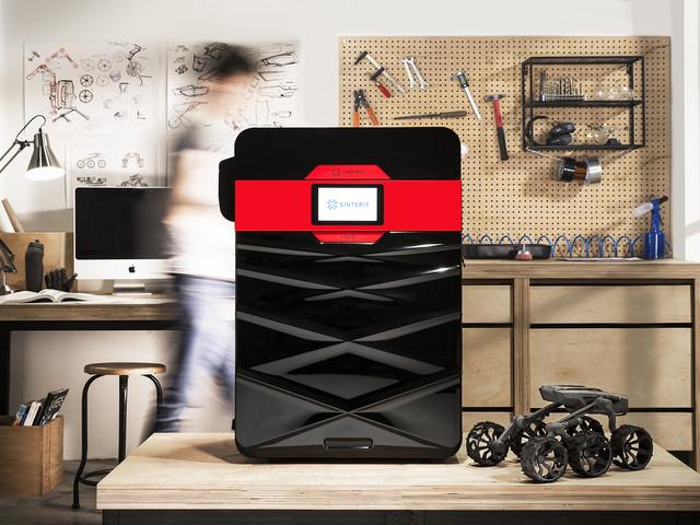 Mit Sinterit Lisa 2 erschwinglicher SLS-3D-Drucker für den Desktop-Bereich vorgestellt