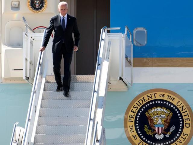 Biden vor russisch-amerikanischem Gipfel in Genf gelandet