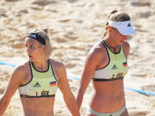 Olympia: Ludwig/Kozuch bei Beachvolleyball-Turnier weiter
