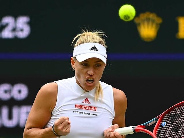 "Sieg gegen ""Coco"" Gauff: Kerber stürmt in Wimbledon ins Viertelfinale"
