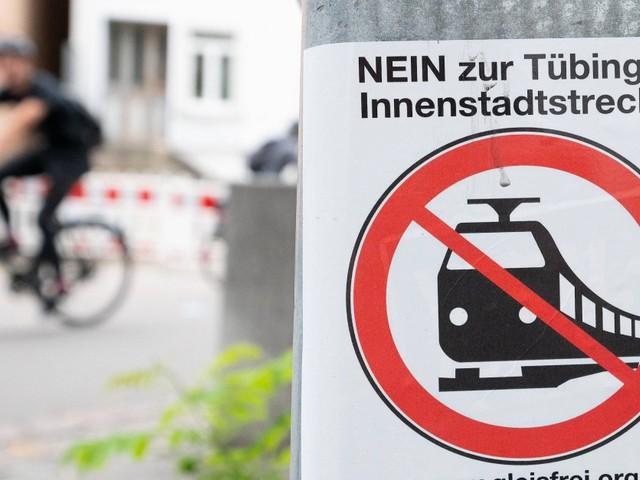 Tübinger stimmen gegen Stadtbahn