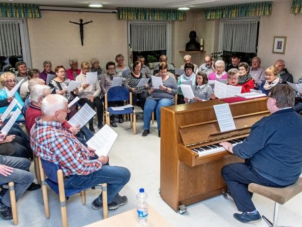 Chöre im Süden: Zwei Gelsenkirchener Chöre singen in einer Gemeinschaft