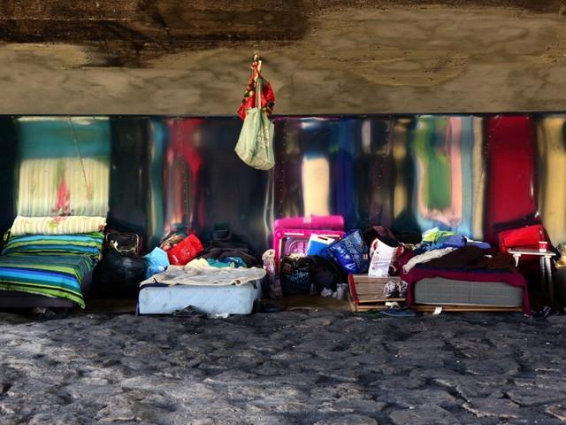 Obdachlosigkeit in München: Leben unter der Brücke