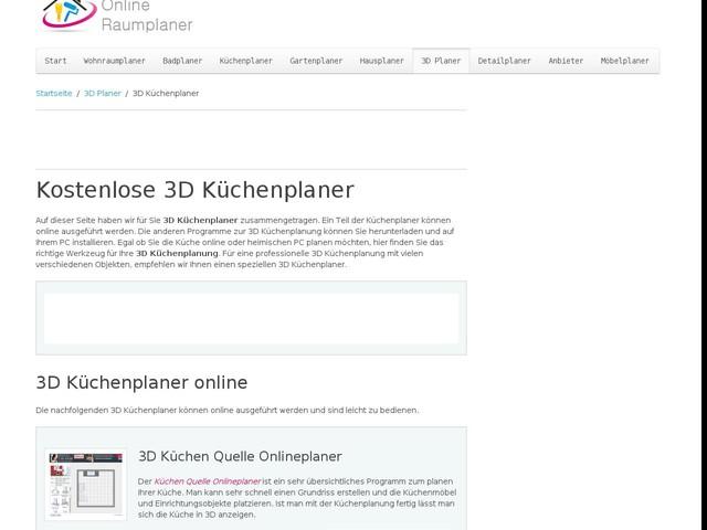 3d küchenplaner kostenlos küchenplanung 3d