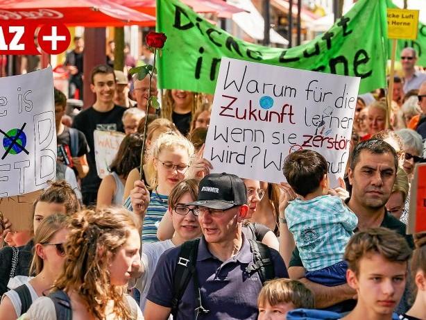 Fridays for Future: Klimawandel: Herner Schüler planen neue Klimastreiks