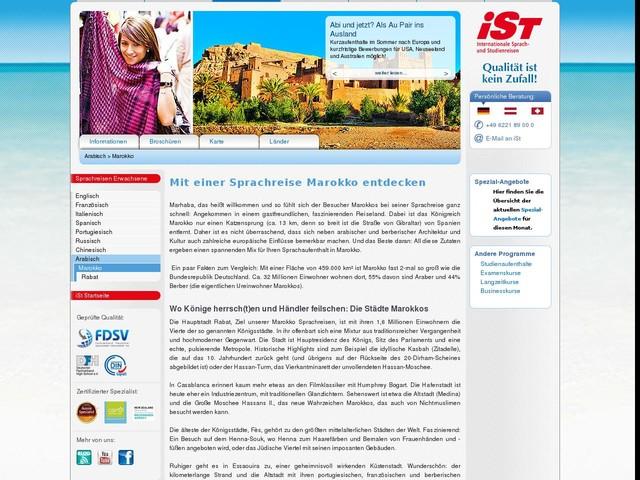 Sprachreise Marokko - Sprachreise nach Marokko für Erwachsene - iSt - Sprachreisen für Erwachsene