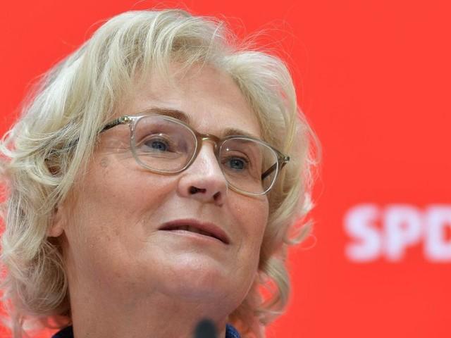 SPD-Politikerin Lambrecht wird Justizministerin