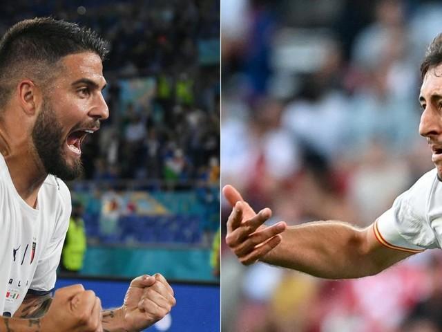 Der heutige Kracher im EM-Halbfinale: Italien gegen Spanien