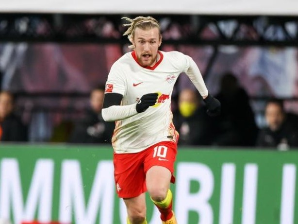 Fußball: Bundesliga: Leipzigs Forsberg gibt Titelhoffnung nicht auf