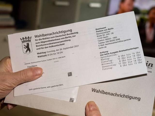 Berlin-Wahl 2021: Wahlbenachrichtigung nicht erhalten? Das sollten Sie jetzt tun