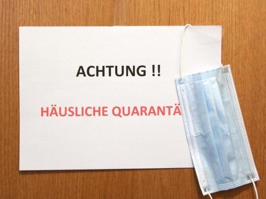 Papier - Quarantäne-Ausgleich für Ungeimpfte soll 11. Oktober enden